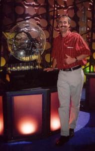 john bij lottoballenmachine